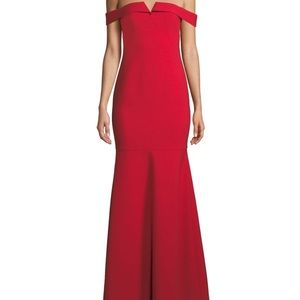 new with tags Likely red off the shoulder dress